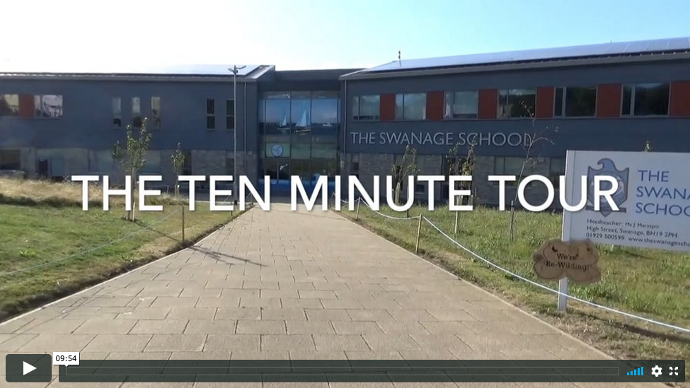 Ten minute virtual tour of The Swanage School